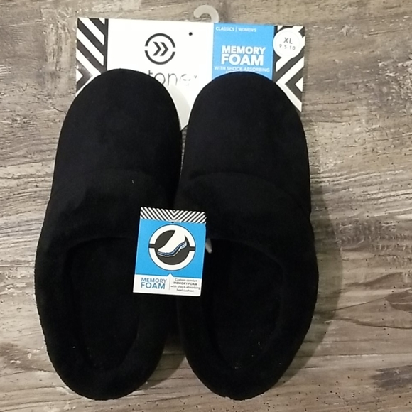 isotoner Shoes - Isotoner Memory Foam Slippers NWT 9.5 to 10